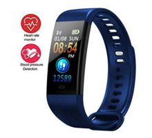 Activity Trackers Sport Smart Watch Color Screen Fitness Tracker Heart Rate Blood Pressure Monitor Bluetooth Wearable Technology Wristband Step Counter Smart Bracelet for Android and iOS
