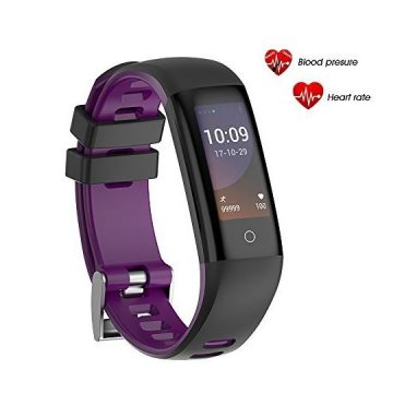 AGKupel Fitness Tracker Watch Activity Tracker Watch Smart Bracelet with Heart Rate Blood Pressure Monitor Touch Color Screen Pedometer Watch IP67 Waterproof Smart Band