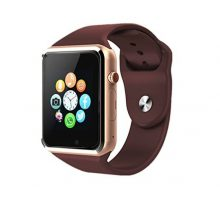 Bluetooth SmartwatchSmart Watch Unlocked Watch Phone can Call and Text with TouchScreen Camera Notification Sync for Android SumSung Huawei and IOS iPhone 7 8 X(Gold)
