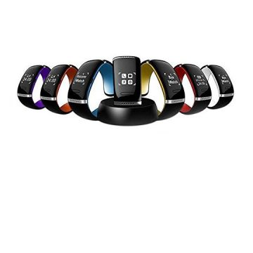 Chiefmax L12S Smart Watch for Android iOS  OLED Touch Screen Bluetooth 30 Bracelet and Sports Pedometer  Caller ID Answer Dial SMS Sync Music Player