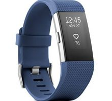 Fitbit Charge 2 Heart Rate + Fitness Wristband Blue Large