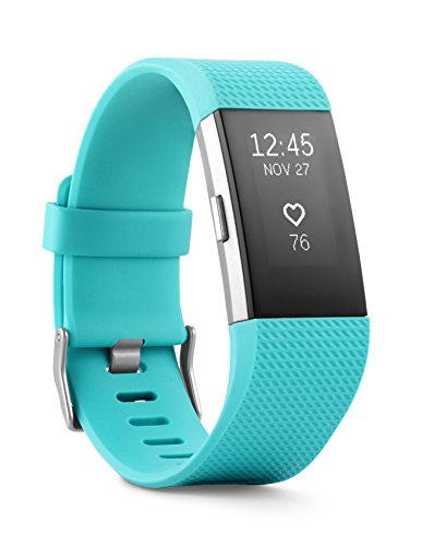 Fitbit Charge 2 Heart Rate + Fitness Wristband Teal Small