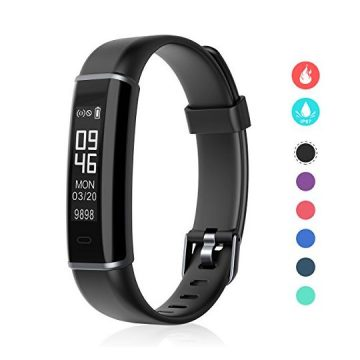 Fitness Tracker EFOSHM Smart Fitness Activity Tracker with Step Counter and Calorie Counter Watch Pedometer Slim Wearable Water Resistant and Sleep Monitor Wristband for Android IOS