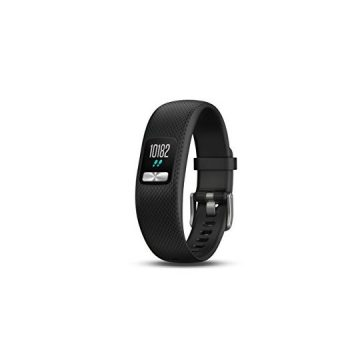 Garmin vívofit 4 activity tracker with 1+ year battery life and color display Small Medium Black 0100184700