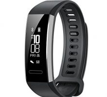 Huawei Band 2 Pro AllinOne Activity Tracker Smart Fitness Wristband | GPS | MultiSport Mode| Heart Rate | Sleep Monitor | 5ATM Waterproof Black