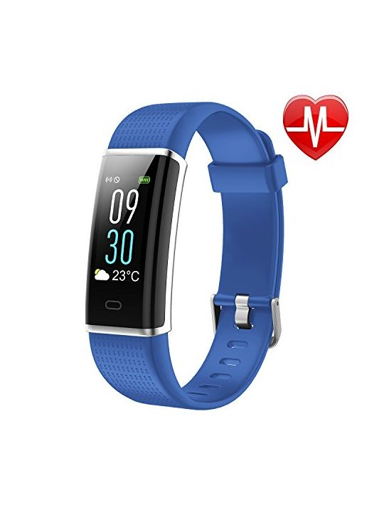 Letscom Fitness Tracker Heart Rate Monitor Watch With