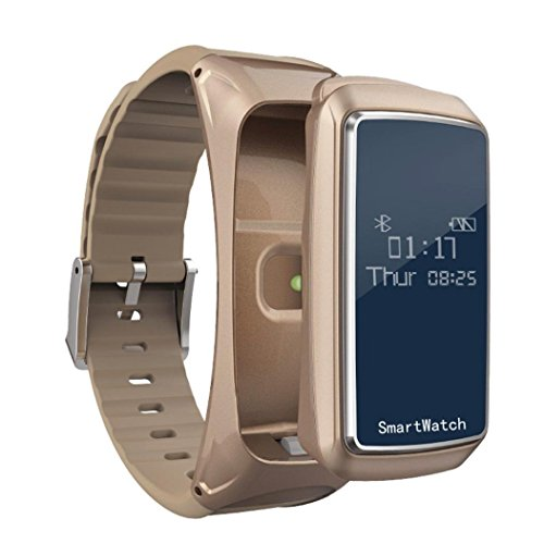 Smart Watch+BlueTooth Earphone Smart Watch with Pedometer Blood Oxygen Pressure Heartrate Monitor Sleep Monitor