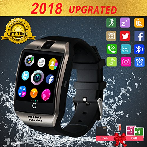 Smart Watch for Android PhonesAndroid Smartwatch Touchscreen with CameraSmart Watches with TextBluetooth Watch Phone with SIM Card Slot watch cell Phone Compatible Android IOS Men Women Youth