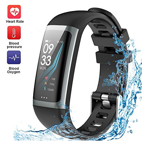 WELTEAYO Fitness Tracker Activity Tracker Fitness Watch Heart Rate Sleep Monitor Waterproof Smart Bracelet Bluetooth Pedometer Wristband Smart Watch for Android and IOS