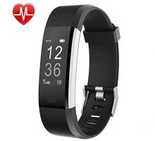 YAMAY Fitness Tracker Fitness Watch Smart Watch Activity Tracker with Heart Rate MonitorSleep Monitor Step Counter 14 Sports TrackerIP67 WaterproofSlim Pedometer Watch for Men Women Kids