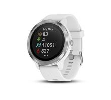 Garmin vívoactive 3 GPS Smartwatch with Contactless Payments and Builtin Sports Apps White Silver