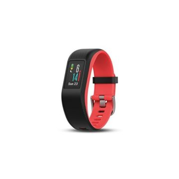 Garmin vívosport Fitness Activity Tracker with GPS and Heart Rate Monitoring Pink