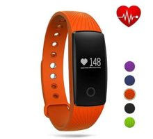 GBlife Fitness Tracker WatchHeart Rate Monitor Bluetooth Smart Wristband Sport Bracelet for Android & IOS