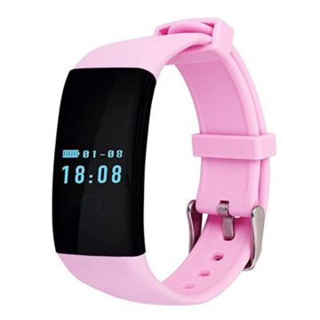 Smart Bracelet Wristband Bluetooth IP68 Waterproof Heart Rate Monitor Sport Wrist Band Activity Tracker Wristwatch For Ios iPhone 7 7 Plus 6s 5s Android Cell Phones Women Girls