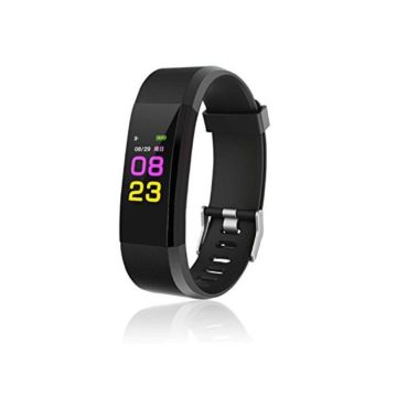 Fitness Tracker Water Resistant with Sleep Monitor Bluetooth Smart Wristband Bracelet Sport Pedometer Fitness Watch Step Tracker Calorie Counter for Android and iOS Clearance Sale