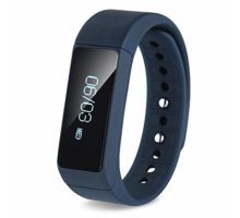 SinoPro i5 Plus Smart Bracelet Bluetooth Wristband Sport Wrist with Fitness Tracker Pedometer Calorie Health Sleep Monitor for iOS iPhone iPad Samsung Galaxy Nexus HTC and Other Smart Phones