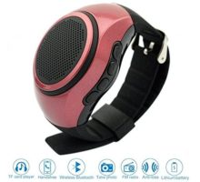♬ SVPRO Portable Wireless Bluetooth Speaker WatchMultifunctional Bracelet Speaker Wristwatch with MP3 Music PlayerHandsfree callRadioSelftimerSupporting USBTF Card Taking Photoes