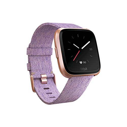 Fitbit Versa Special Edition Smart Watch Lavender Woven One Size