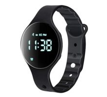 iGANK Fitness Tracker Watch T6A NonBluetooth Smart Bracelet Walking Pedometer Watch Step Counter Calorie Burned Distance Alarm Stopwatch for Kids Men Women