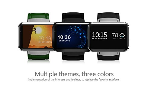 iSTYLE&regBluetooth Smart Fitness Watch DM98 3G Android 44 iOS WiFi GPS Health Wrist Bracelet Heart Rate Sleep Monitor Smart Wearable Devices
