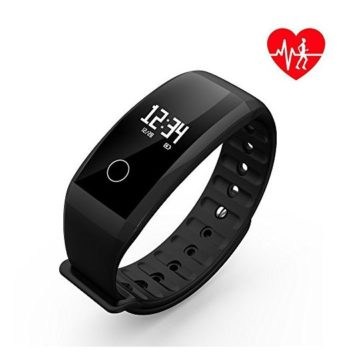 UAGK Fitness Tracker Smart Bracelet Smart Watch Waterproof Pedometer Activity Tracker with Sleep Monitor Heart Rate Monitor Blood Pressure Oxygen Monitor Bluetooth 40 for iOS & Android Phones