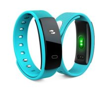 Activity Tracker QS 80 Bluetooth Band OLED Heart Rate Smart Bracelet for iPhone & Android Phones
