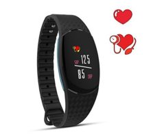 Keptfit Fitness TrackerBluetooth Activity WristbandSmart Bracelet with Heart Rate Blood Pressure Monitor IP67 Waterproof Pedometer Colorful Screen Smart Watch