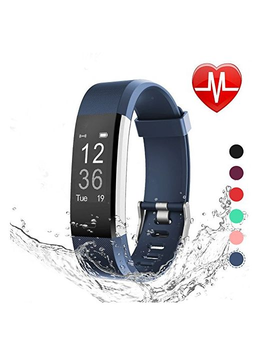 Letscom Fitness Tracker Hr Heart Rate Monitor Watch Ip67