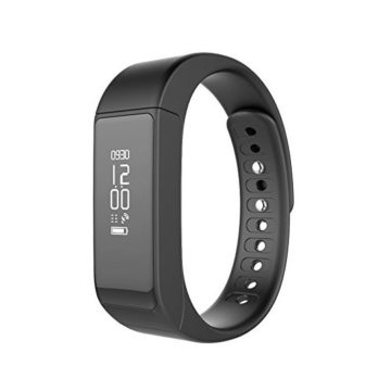 Smart Bracelet l5 Plus Bluetooth 40 Wireless Sports Fitness Tracker with Pedometer Sleep Monitoring and Calories Track for iPhone7 7Plus 6 6s 6 Plus Android and iOS Smart Phones