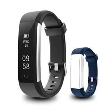 Coffea Fitness Tracker C2 Activity Wristband  Wireless Smart Bracelet Waterproof Pedometer Activity Tracker Watch with Replacement Band for iOS & Android Smartphone