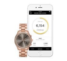 Michael Kors Access Hybrid Rose Gold Slim Runway Smartwatch MKT4005