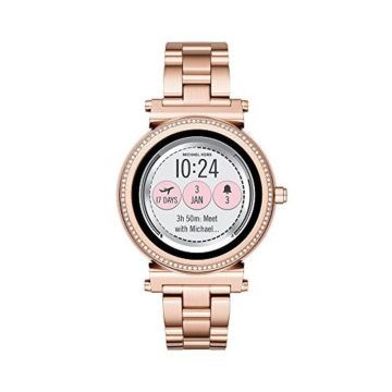 Michael Kors Access Women's Smartwatch Sofie Rose GoldTone Stainless Steel MKT5022