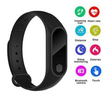 ONDY M2 IP67 Smart Bracelet Bluetooth Synchronous Motion Meter Step Bracelet Gift Custom Cycling Heart Rate Monitors Bluetooth Bracelet Fitness Tracker