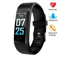 XZHI Fitness Tracker HR Smart Bracele Smart Watch Waterproof Pedometer Activity Tracker with Heart Rate Monitor Blood Pressure Blood Oxygen Monitor Bluetooth 40 for iOS Android