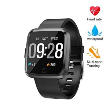 XZHI Fitness Tracker Smart Watch with Blood Pressure Oxygen Monitor Waterproof Fitness Watch Big Color Screen Activity Watch with Continuous Heart Rate Sleep Monitor for Kids Women Men