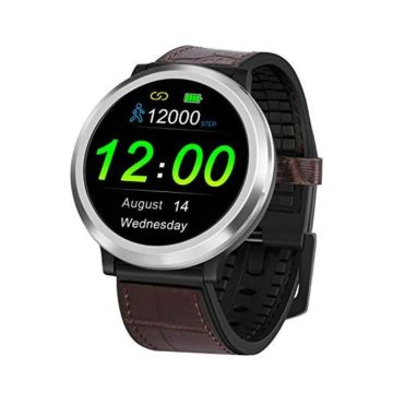 Smart Watch with MultiFunctions Heart Rate Blood Pressure Sports Bracelet Bluetooth 20 Days Standby Time Sleep Water Monitoring Easy to Connect Compatible with Most Smartphones