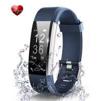 BADIQI Fitness Tracker Waterproof Activity Tracker Heart Rate Monitors Sleep Tracking Wireless Bluetooth Activity Tracker Smart Bracelet Pedometer Fitness Sports Wristbands