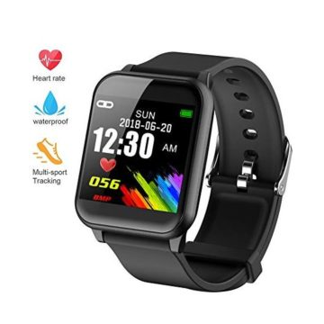 beitony Fitness Tracker Waterproof Big Color Screen Activity Tracker with Heart Rate Monitor Watch Fitness Watch with Calorie Counter Pedometer Sleep Blood Pressure Monitor for Kids Women Men