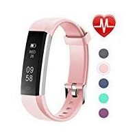 Letsfit Fitness Tracker with Heart Rate Monitor Slim Activity Tracker Watch Pedometer Sleep Monitor Step Counter Calorie Counter Waterproof Smart Band Kids Women Men