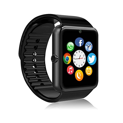MSRMUS Smart Watch Compatible for Iphone 5s 6 6s 7 7s and Android 43 above Anti Lost and Pedometer Fitness Tracker