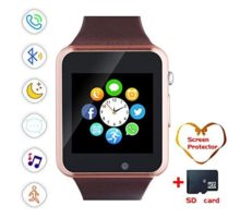 Smartwatch Bluetooth Smart Watch and Cell Phone Watch with Card SIot Bluetooth CallCameraMusic Player Watch Compatible for Android and iOS Phones Women and Men