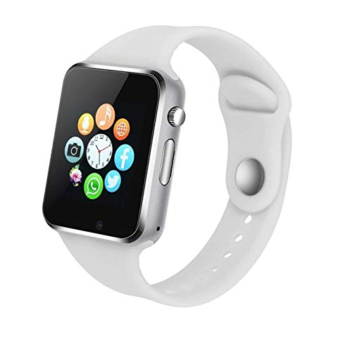 Bluetooth Smart Watch Fitness Tracker Touch Screen Smart Wrist Smartwatch Support SIM SD Card Slot Make Answer Phone Camera Pedometer Compatible Android iOS Samsung LG for Women Men Kids