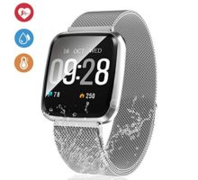 13 Inch Fitness Tracker Smart Watch IP68 Waterproof Fitness Watch Activity Tracker with Heart Rate Monitor Wearable Smart Bracelet Sleep Monitor Step Counter Pedometer Watch for Men Women Kids …