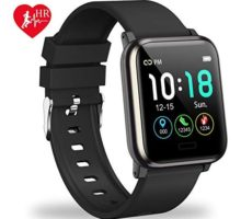 L8star Fitness Tracker HR Activity Tracker with 13inch IPS Color Screen Long Battery Life Smart Watch with Sleep Monitor Step Counter Calorie Counter Smart Bracelet for Women Men