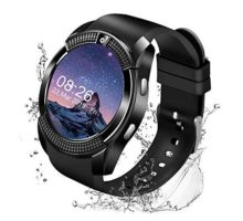 Maoday Smart WatchBluetooth Smartwatch Touch Screen Wrist Watch with Camera SIM Card SlotWaterproof Smart Watch Sports Fitness Tracker Android Phone Watch Compatible with Android Phones Samsung
