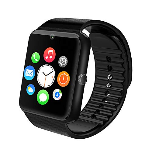 Smart Watch Maoday Bluetooth Smartwatch Unlocked Watch Phone with SIM Card Slot Camera Pedometer Touch Screen Music Player Smart Wrist Watch Android iOS Phone Compatible for Men Kids