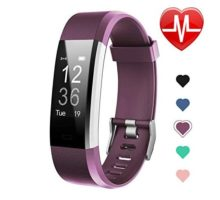 Letsfit Fitness Tracker HR Activity Tracker Watch with Heart Rate Monitor IP67 Water Resistant Smart Bracelet with Calorie Counter Pedometer Watch for Kids Women Men