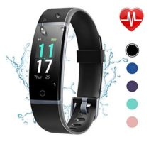 Letsfit Fitness Tracker HR Activity Tracker with Step CounterIP68 Waterproof Pedometer with Calorie Counter Sleep MonitorSmart Fitness Band for Men Women Kids