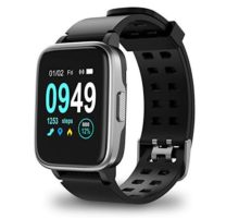 Updated 2019 Version Smart Watch for Android iOS Phone Activity Fitness Tracker Watches Health Exercise Smartwatch with Heart Rate Sleep Monitor Compatible with Samsung Apple iPhone for Men Women