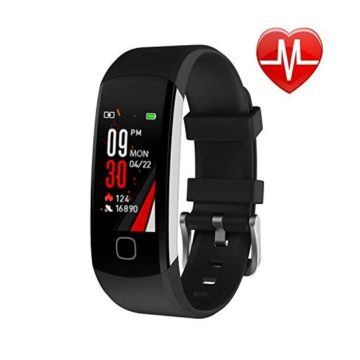 L8star Fitness Tracker Continuous Heart Rate Monitor IP67 Waterproof Smart Activity Tracker with 6 Sports ModeSleep MonitorPedometer Smart Wrist Band for Women Men Android iOS